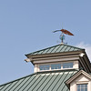 The quill pen is used in Bob Timberlake's logo. The one on the weather vane above the gallery is nine feet long.