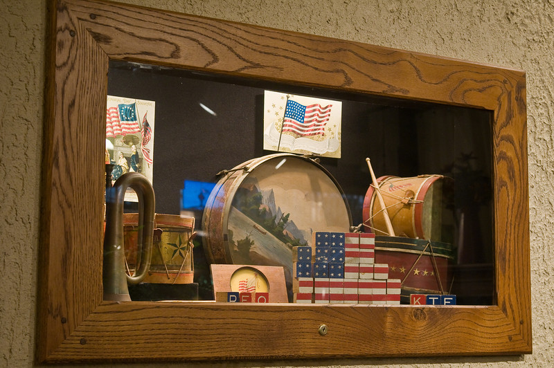 Mementos of Bob's life are showcased at the Gallery in Lexington.