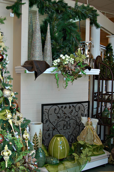Contemporary color decorations at Peppermint Forest