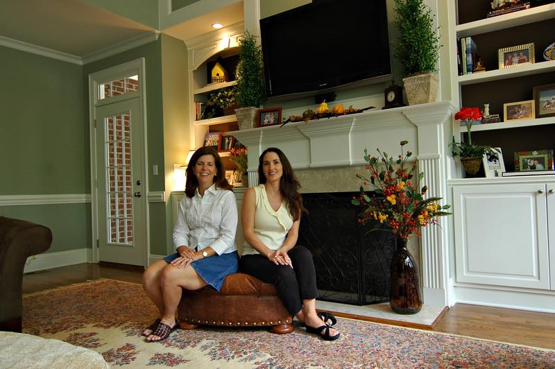 Designers Angie Gatton and Jill Gilliam