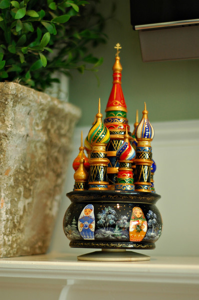 A souvenir from a trip to Russia evokes fond memories.