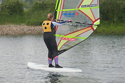blind people windsurfing, Dagmar