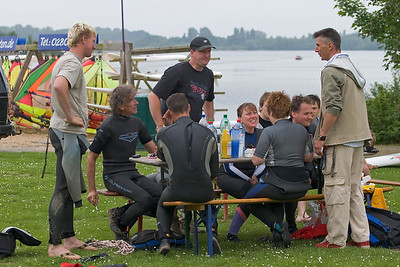blind people windsurfing, the group