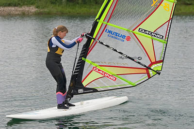 blind people windsurfing, Dagmar