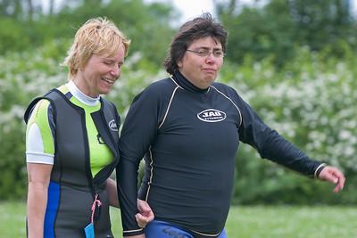 blind people windsurfing, Brigitte and Ecki