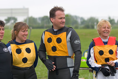 blind people windsurfing, Ecki, Dagmar, Christian, Brigitte