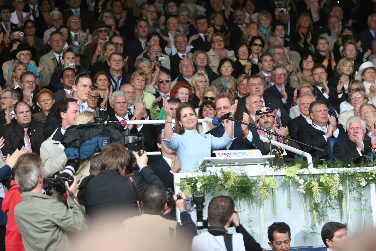 """#24 - """"I declare the World Equestrian Games, open.""""<br /> Princess Haya, Pres. of FEI"""
