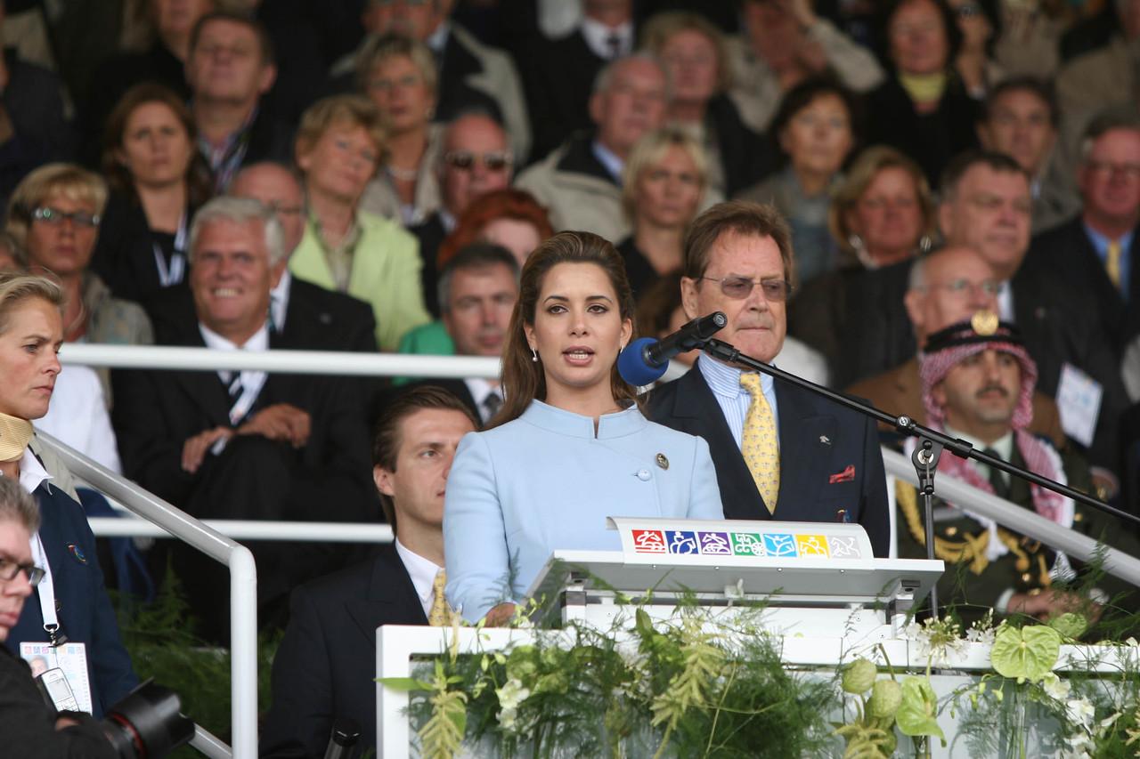 #20- Princess Haya, Pres. of FEI gives<br /> Opening Address