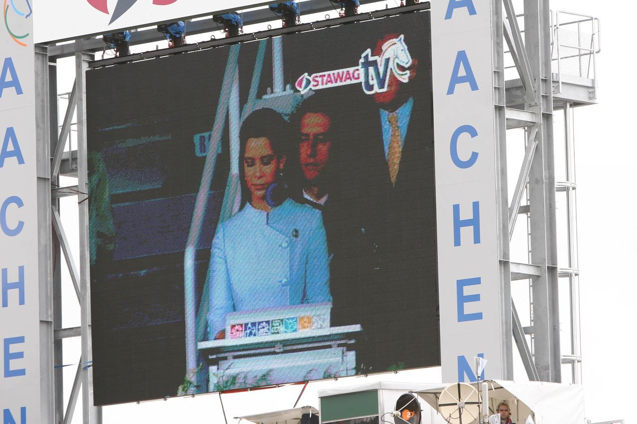 #27-Princess Haya reflected on the big screen