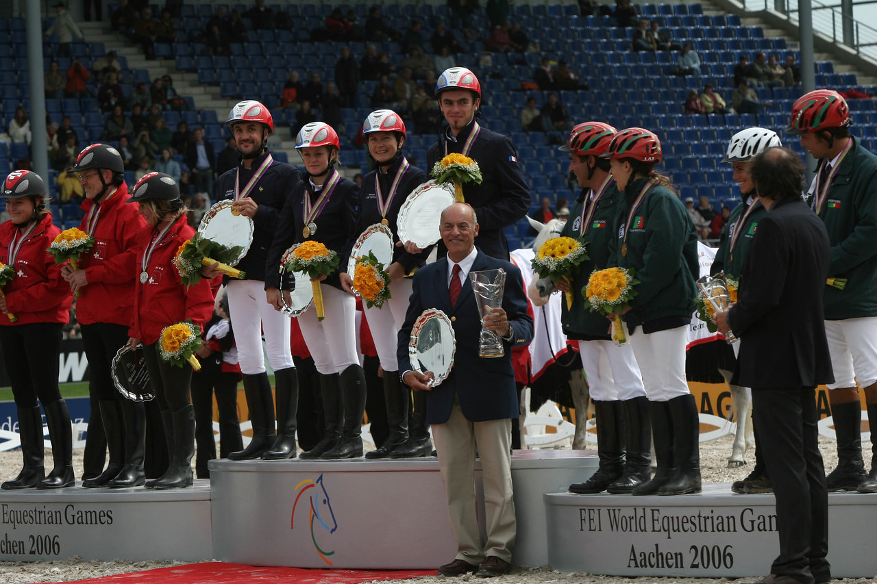 #36- French Gold medal riders receive awards