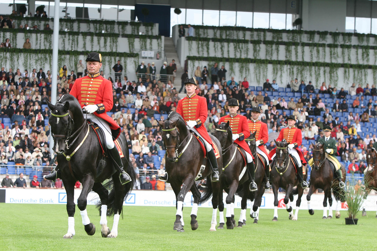 #25-Parade of Stallions Quadrille from the German Stud