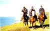 Riding by the ocean Pt Reyes seashore