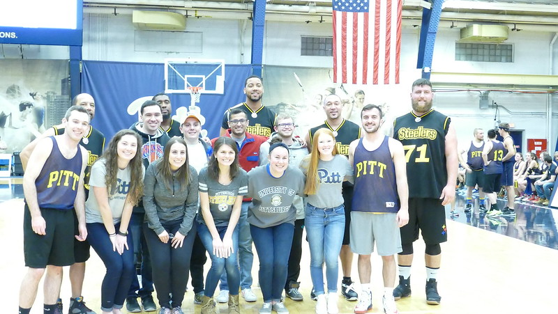 Steelers vs Students Basketball Game