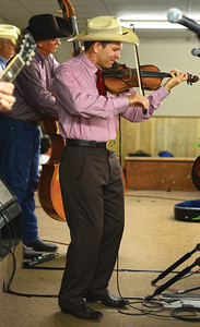 Bert Rivera and the Ramblers perform before the 2015 Annual Meeting in Giddings, Tx.