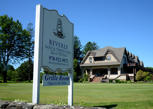 JIM VAIKNORAS/Staff photo Sign and club house at  Beverly Golf and Tennis