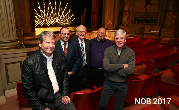 KEN YUSZKUS/Staff photo. From left, Paul Van Ness,Thaddeus Siemasko, William Howard, Richard Marino, and Henry Bertolon are the people responsible for the new Cabot in Beverly  11/12/14