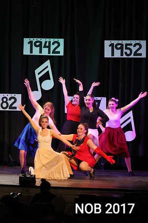 The 85th anniversary show at the Mitchell School of Dance in Beverly.<br /> This was a 50's swing dance. Top Left: Grace Oliveira, Top Center: Bethani Boccia Moremong. Top Right: Morgan Davidson. Bottom Left: Lydia Saltzman. Bottom Center: Jesse Ellard. Bottom Right: Jessica Hall.
