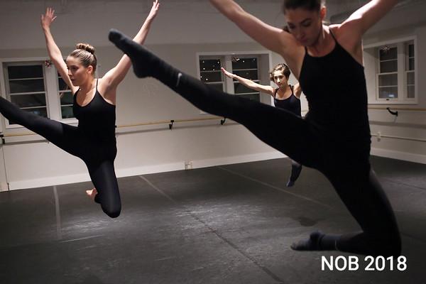 HADLEY GREEN/Staff photo<br /> The BoSoma Dance Company rehearses at their studio in Hamilton.
