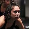 HADLEY GREEN/Staff photo<br /> BoSoma dancer Stephanie Boisvert, of Beverly, rehearses with the company.