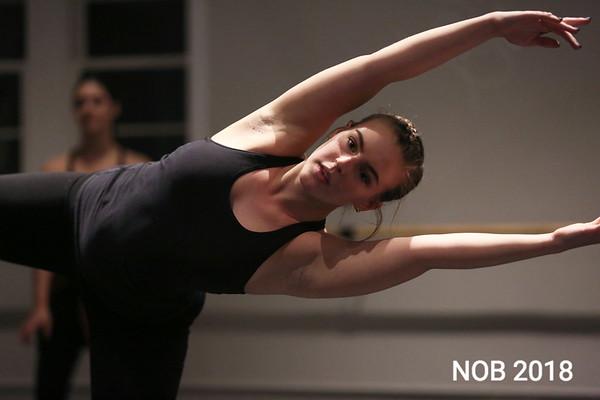 HADLEY GREEN/Staff photo<br /> BoSoma dancers rehearse at their studio in Hamilton.