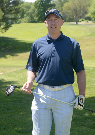 JIM VAIKNORAS/Staff photo David Dionne,<br /> Head Golf Professional at Beverly Golf and Tennis