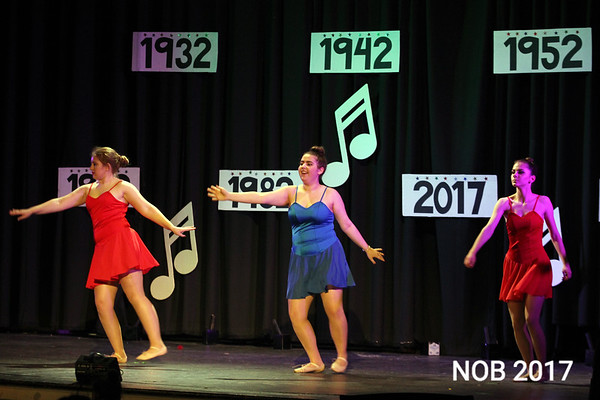 The 85th anniversary show at the Mitchell School of Dance in Beverly.