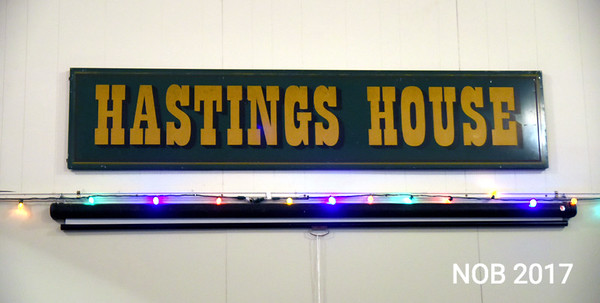 JIM VAIKNORAS/Staff photo  Sign inside the Hastings House in Beverly Farms.