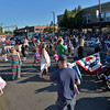RYAN HUTTON/ Staff photo<br /> Crowds pack Maple Street during Danvers' annual Oldies Night block party on Thursday night.