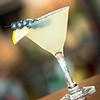 A blueberry lemon drop martini at the Osborn Tavern.