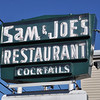 Sam Ciruolo, started Sam and Joe's Restaurant on Water Street  60 years, with Joe Calitri.<br /> Photo by Kathy Chapman