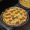 Pepperoni Pizza at Sam and Joe's Restaurant, which started selling pizza in the 1950's. <br /> Photo by Kathy Chapman
