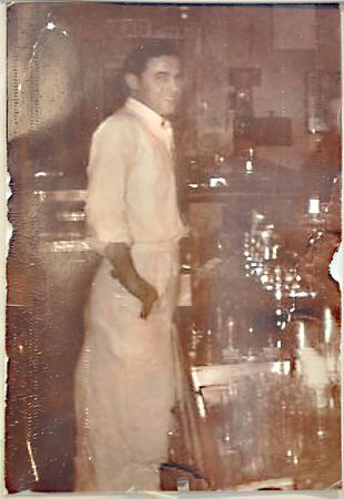 Sam Ciruolo, started Sam and Joe's Restaurant on Water Street  60 years, with Joe Calitri.<br /> Photo by Kathy Chapman