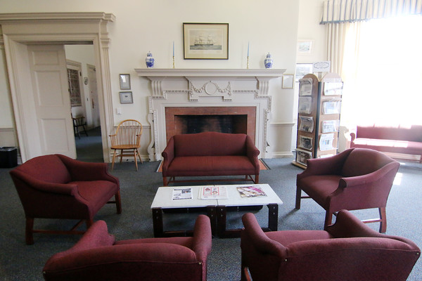 Photo by Allegra Boverman. At the Peabody Institute Library of Danvers . The Standring Room.