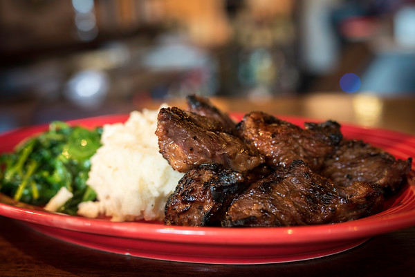 At the Osborn Tavern steak tips are a customer favorite. Photo by Don Toothaker