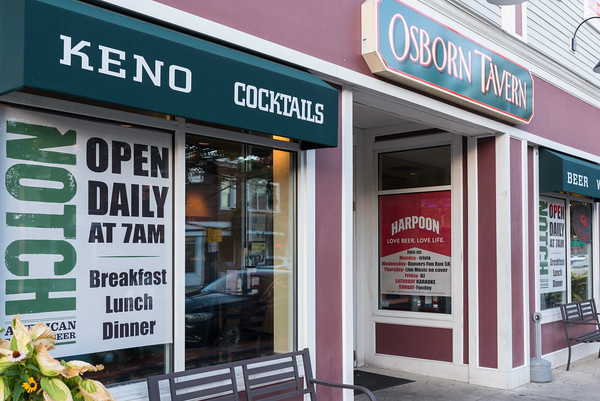 The Osborn Tavern is named after one Danvers' founding fathers. They pride themselves on being both a townie bar and a place where families can go for dinner.