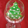 JULIA BISHOP/Staff photo. A decorated sugar cookie.<br /> Christmas cookies4/26/13