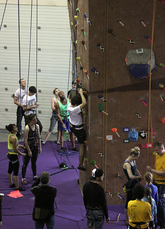 Kato Krusher Climbing Competition