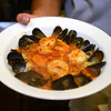 RYAN HUTTON/ Staff photo<br /> An order of the Essex Street Grill's seafood fra diabolo.