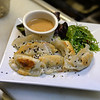 RYAN HUTTON/ Staff photo<br /> An order of the chicken potstickers from the Essex Street Grill.