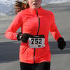 TIM JEAN/Staff photo <br /> Riley Gilmore of Bradford was the first female to finish the annual Valentine's Day Road Race in Bradford with a time of 22:18.       2/13/16