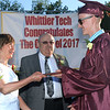The Whittier Technical high school graduation was held Thursday night. Guest speaker was State Sen. Kathleen O'Connor Ives. The Class of 2017 consist of 335 graduates from the Greater Lawrence, Haverhill and Newburyport area.