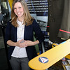 TIM JEAN/Staff photo<br /> Jessica Papathan, Executive Director of the Aviation Museum of New Hampshire in Londonderry.   5/25/16 5/25/16