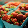 TIM JEAN/Staff photo<br /> Fresh strawberries, raspberries, and blueberries are among the other locally grown vegetables are available in the farm stand at Sunnycrest Farm in Londonderry. 7/5/16