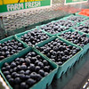 TIM JEAN/Staff photo<br /> Fresh blueberries are available in the farm stand at Sunnycrest Farm in Londonderry. 7/5/16
