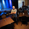 TIM JEAN/Staff photo<br /> Scott Hayward, owner of Tupelo Music Hall in Londonderry stands in the seating area before a show. 5/26/16