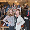 Laura Factor, left, and Shannon Lang are co-owners of Mainstream Boutique, a woman's clothing and jewelry store located in Mankato Heights. The store opened in February of 2015. Photo by Jackson Forderer