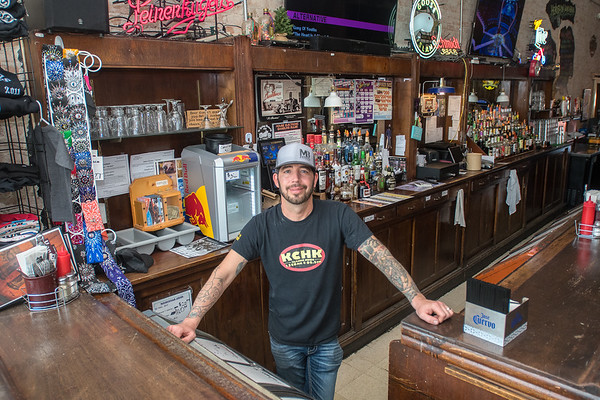 Danny Ross has owned the Road House Eatery, Bar and Event Center in Henderson for the past seven years. The restaurant, bar and event center are all connected businesses in downtown Henderson. Photo by Jackson Forderer