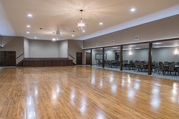 The Golden Bubble, an event space in rural Wells, has a capacity of 550 people. Owner Jeff Erickson said that he hopes to primarily host wedding dances.