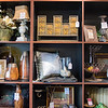 Various home decor items for sale in the clearance area of Johnson Furniture.