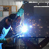 Don Jensen welding.